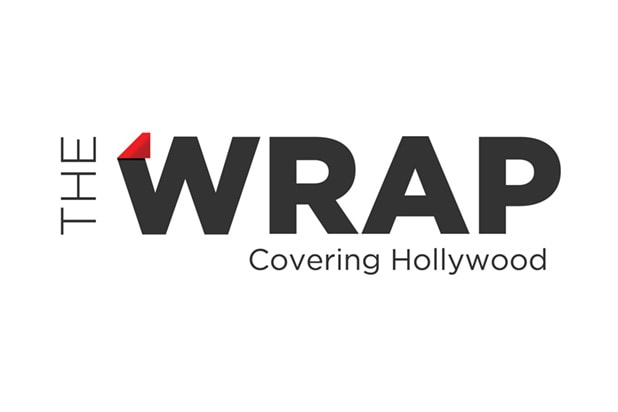 Connie Britton huddled up at the Grey Goose Blue Door on Saturday night. (Getty Images)