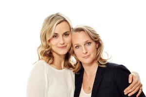 Schilling, left, with Kerman. Photo Credit: Brian Bowen Smith/Netflix