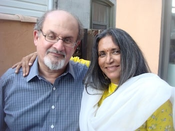 Salman Rushdie and Deepa Mehta
