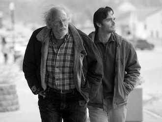 Bruce Dern and Will Forte