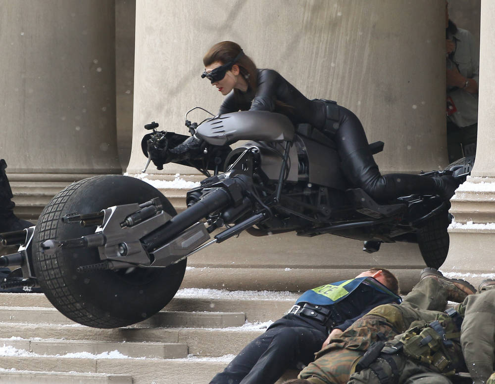 Anne Hathaway in Dark Knight Rises