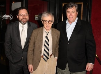 Michael Barker, Woody Allen and Tom Bernard