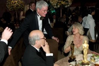 Bruce Davis and Helen Mirren