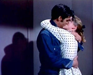 Elvis Presley and Dolores Hart in Loving You