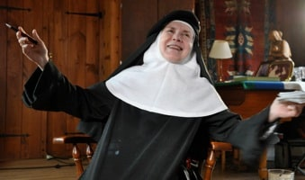 Mother Prioress in God Is the Bigger Elvis