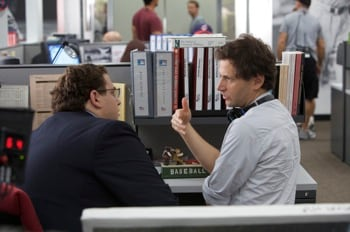 Jonah Hill and Bennett Miller
