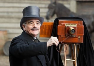 Martin Scorsese in Hugo