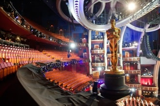 Inside the Kodak Theater at Oscar rehearsals