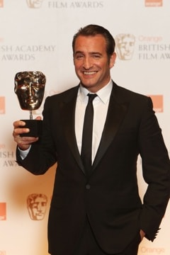 Jean Dujardin at the BAFTA Awards