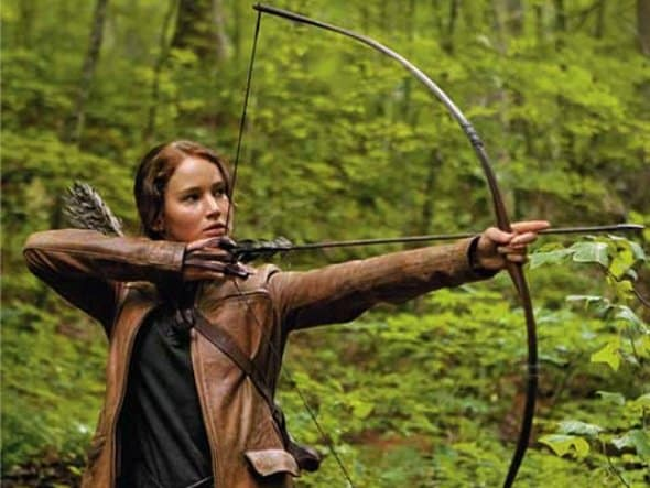 Jennifer Lawrence in The Hunger Games in IMAX