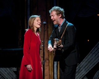 Marketa Irglova and Glen Hansard at the Sci-Tech Awards