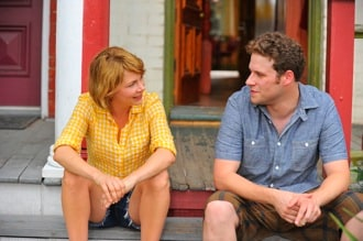 Michelle Williams and Seth Rogen