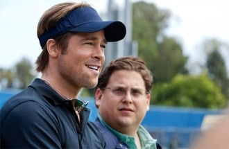 Brad Pitt and Jonah Hill