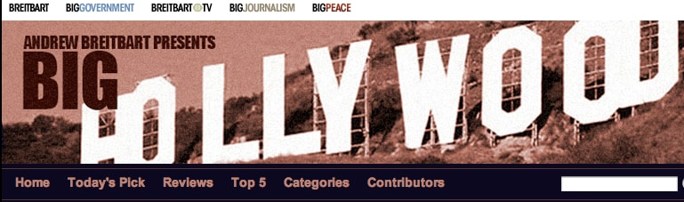 Andrew Breitbart launched Big Hollywood website