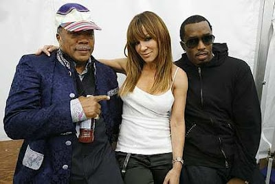 quincy jones and p. diddy
