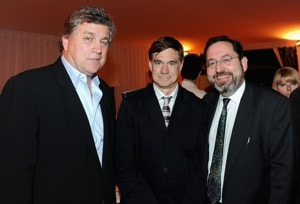 Tom Bernard, Gus Van Sant and Michael Barker