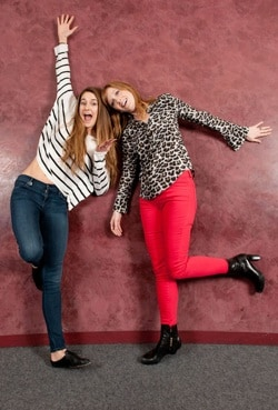 Shailene Woodley and Judy Greer