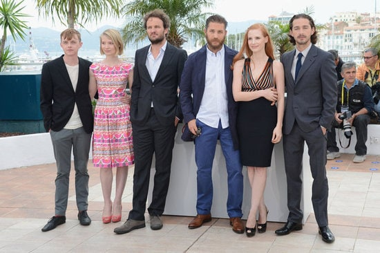 lawless cast in cannes