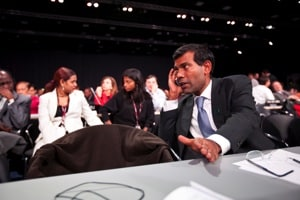 Mohamed Nasheed in The Island President