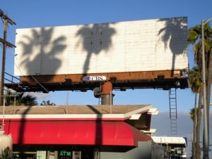 Banksy billboard