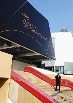 Cannes steps