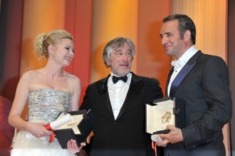 Cannes winners with Robert De Niro