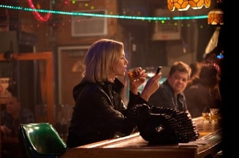 Charlize Theron and Patton Oswalt in Young Adult