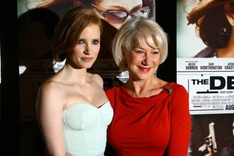 Jessica Chastain and Helen Mirren
