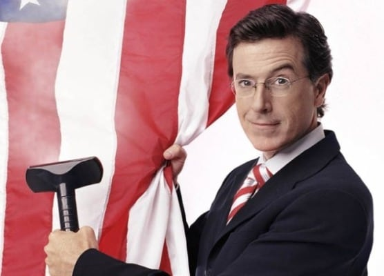 Stephen Colbert show, Colbert Report, canceled for rest of week without explanation.