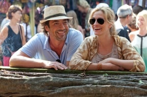 Javier Bardem and Julia Roberts