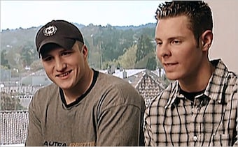 Shawn Fanning and Sean Parker