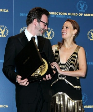 Michel Hazanavicius and Berenice Bejo