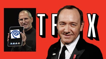 "Jobs and iPad2; Kevin Spacey and Netflix's ""House of Cards"" Announcement"