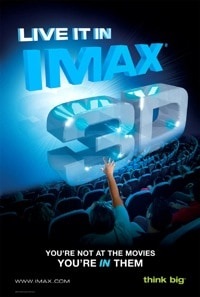 Imax 3D poster