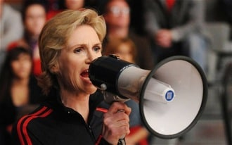 Jane Lynch on Glee