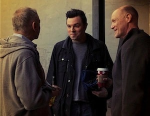 Craig Zadan and Seth MacFarlane and Neil Meron