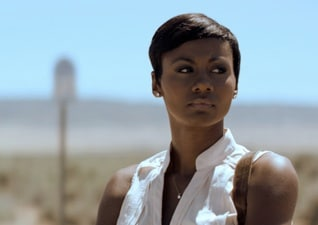 "Emayatzy Corinealdi stars in ""Middle of Nowhere"" a film picked up by Participant Media at Sundance"