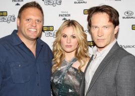 Howard Mittman Anna Paquin Stephen Moyer