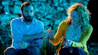 Will Forte and Maxine Peake