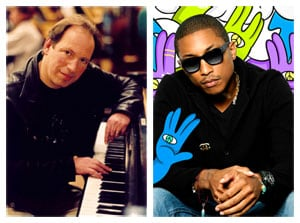Hans Zimmer and Pharrell Williams