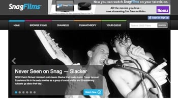 SnagFilms website