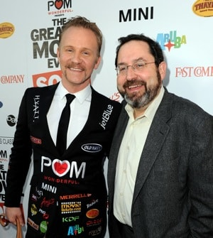 Morgan Spurlock and Michael Barker