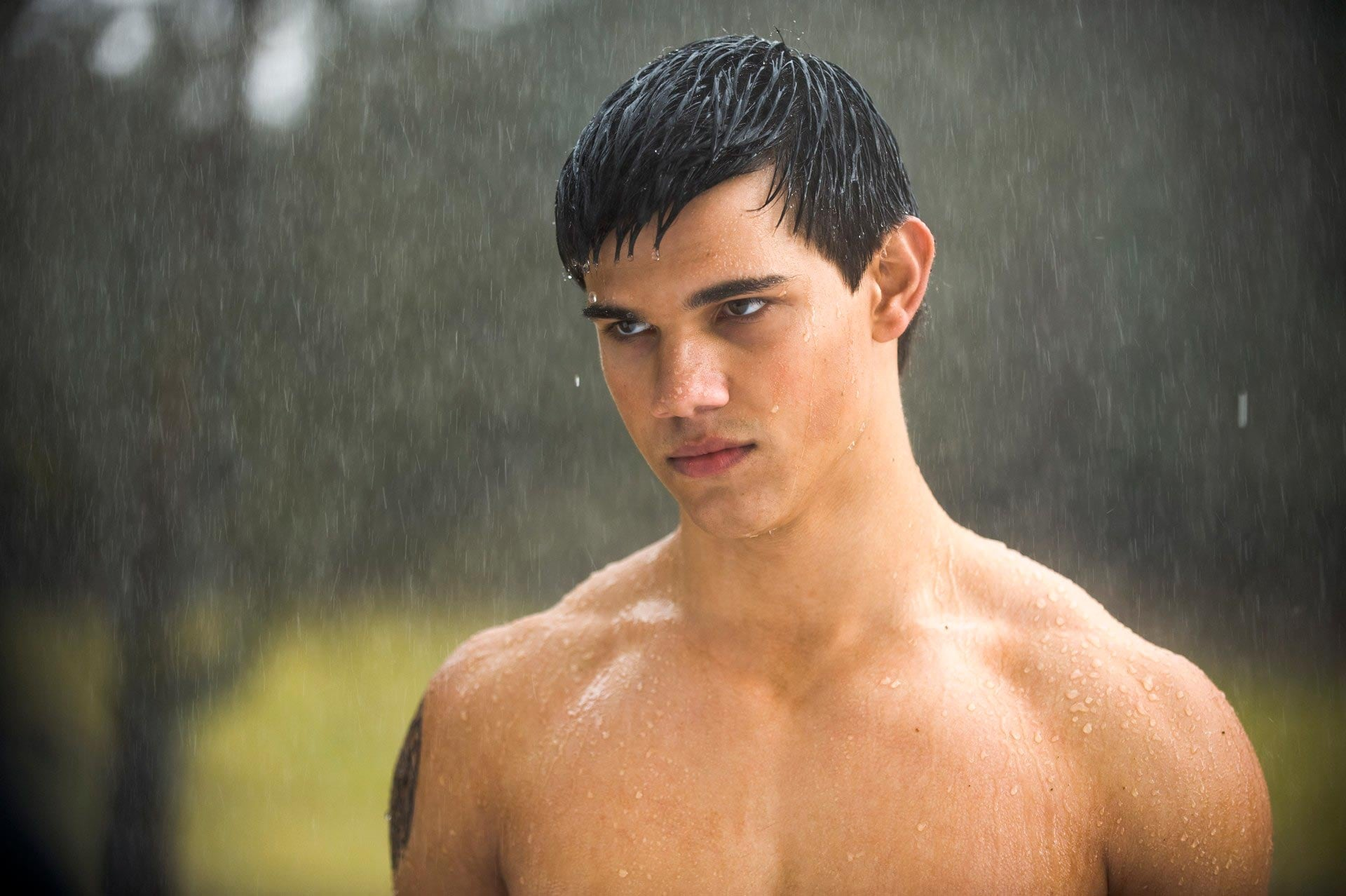 The hunky star will be seen next in the final installment of the    Taylor Lautner In The Water