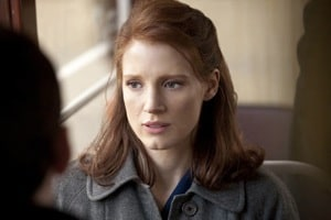 Jessica Chastain in The Debt