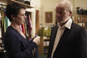 Olivia Colman and Peter Mullan