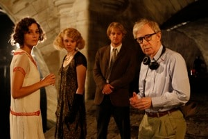 Woody Allen on Midnight in Paris
