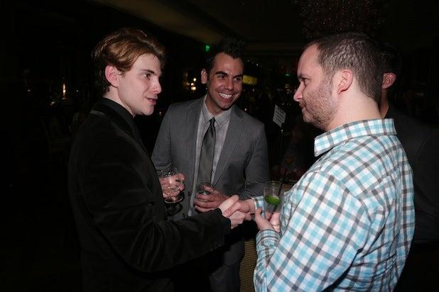 TheWrap Executive Editor Joseph Kapsch, producer Daniel Dreifuss, and Access Hollywood's Joseph Siyam
