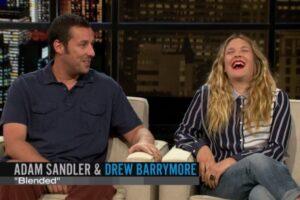 Adam Sandler, Drew Barrymore, 'Chelsea Handler'
