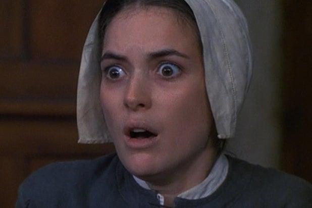 Winona Ryder Crucible