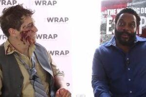 """Walking Dead"" star Chad Coleman talks about season 5 with TheWrap's Greg Gilman"